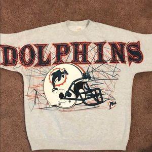 VTG Miami Dolphins Crewneck Sweatshirt